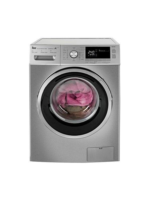 m quina de lavar roupa teka tkd 1270 inox hiper real euronics. Black Bedroom Furniture Sets. Home Design Ideas